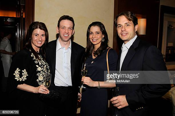 Christi Proctor Andrew Borrok Vanessa Bain and Scott Rickman attend CITY MEALS ON WHEELS at DANIEL at Daniel on April 13 2008 in New York City