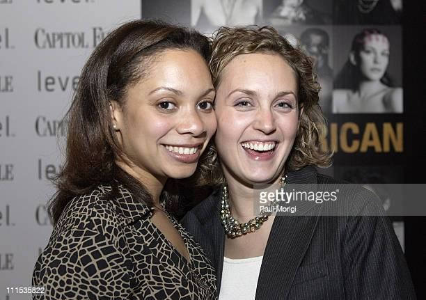Christi Rich and Kristy Snaman during Capitol File's 2006 Anniversary Party at National Portrait Gallery in Washington, District of Columbia, United...