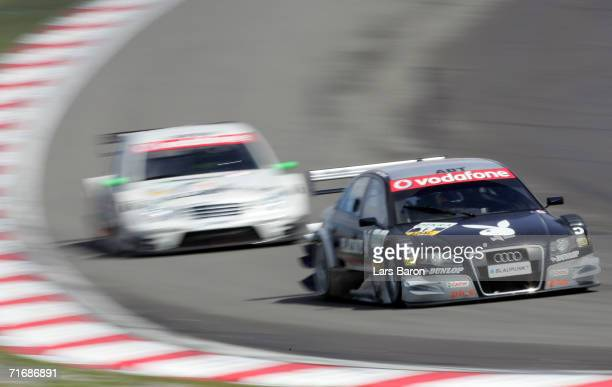 Christian Abt of Germany and Audi in action during the sixth round of the DTM 2006 German Touring Car Championship at the Nurburgring on August 20,...