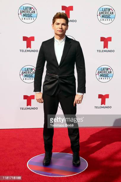 Christian Acosta attends the 2019 Latin American Music Awards at Dolby Theatre on October 17 2019 in Hollywood California