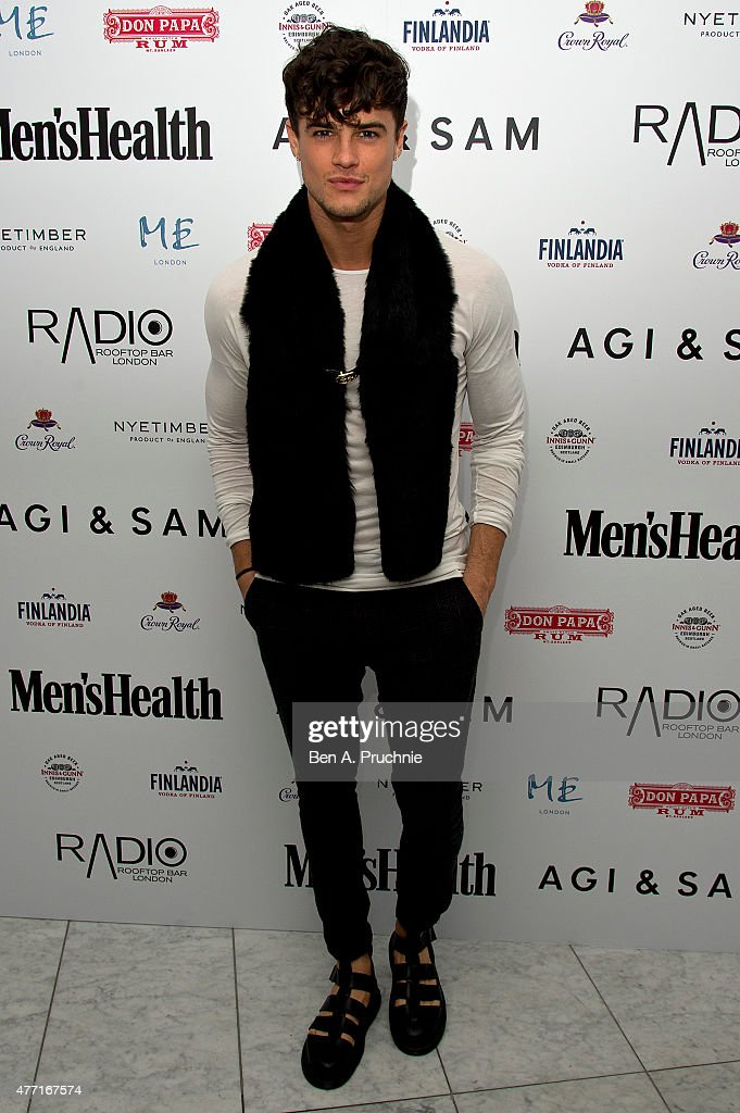 Christian Arno attends the Men's Health X Agi & Sam LCM Party at Radio Bar at the ME Hotel on June 14, 2015 in London, England.