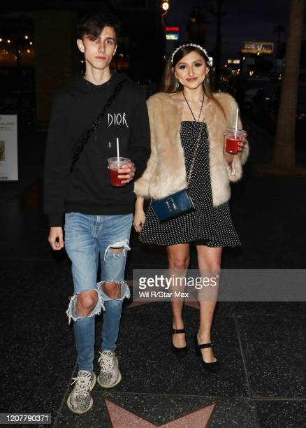 Christian Arron and Mariah Malibu are seen on March 19 2020 in Los Angeles California