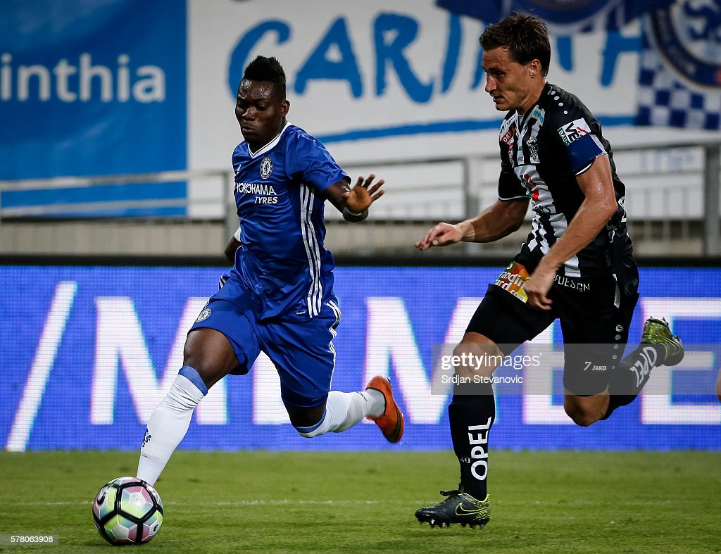 WAC RZ Pellets v Chelsea - Friendly Match : News Photo