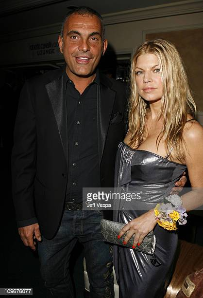 Christian Audigier and Fergie during Sharon Stone and Kelly Stone Host the 1st Annual 'Class of Hope Prom 2007' Charity Benefit Red Carpet and Inside...