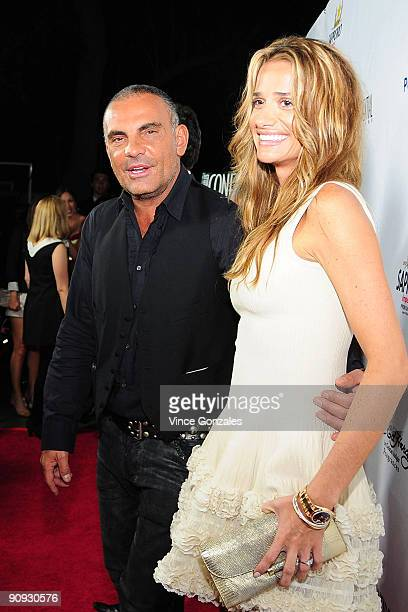 Christian Audigier and Ira Audigier arrive at Los Angeles Confidential magazine's annual pre-Emmy party, hosted by Heidi Klum and Niche Media CEO...