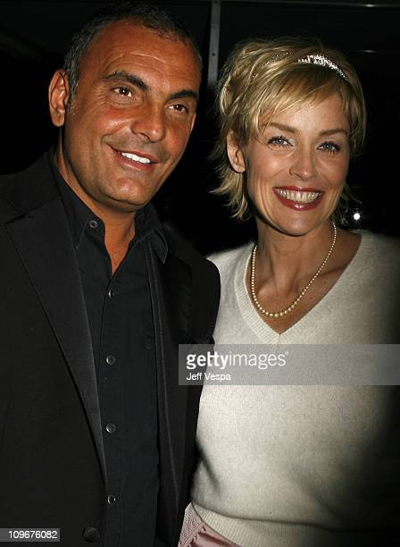 Christian Audigier and Sharon Stone during Sharon Stone and Kelly Stone Host the 1st Annual 'Class of Hope Prom 2007' Charity Benefit Red Carpet and...