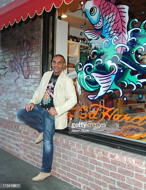 Christian Audigier during Christian Audigier Launches His New Collection at Ed Hardy in Los Angeles, California, United States.