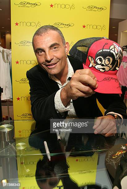 Christian Audigier, Ed Hardy designer during Ed Hardy In-Store at Macy's - April 26, 2007 at Macy's in New York City, New York, United States.