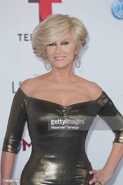 Christian Bach attends Telemundo's Premios Tu Mundo Awards at American Airlines Arena on August 15 2013 in Miami Florida