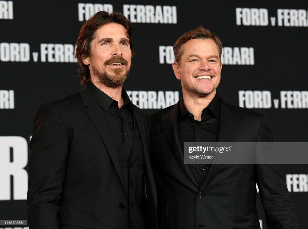 """Premiere Of FOX's """"Ford V Ferrari"""" - Red Carpet : News Photo"""