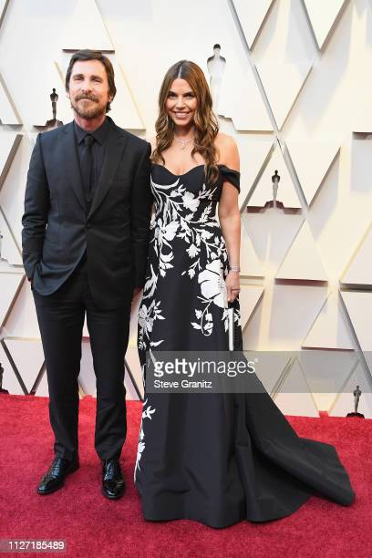 Christian Bale and Sibi Bale attend the 91st Annual Academy Awards at Hollywood and Highland on February 24, 2019 in Hollywood, California.