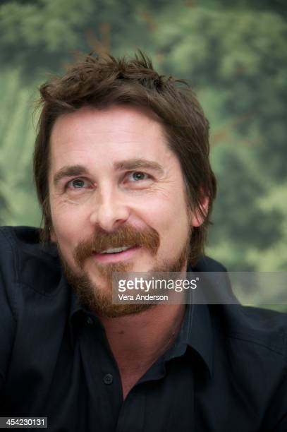 Christian Bale at the 'American Hustle' Press Conference at The London Hotel on December 6 2013 in New York City