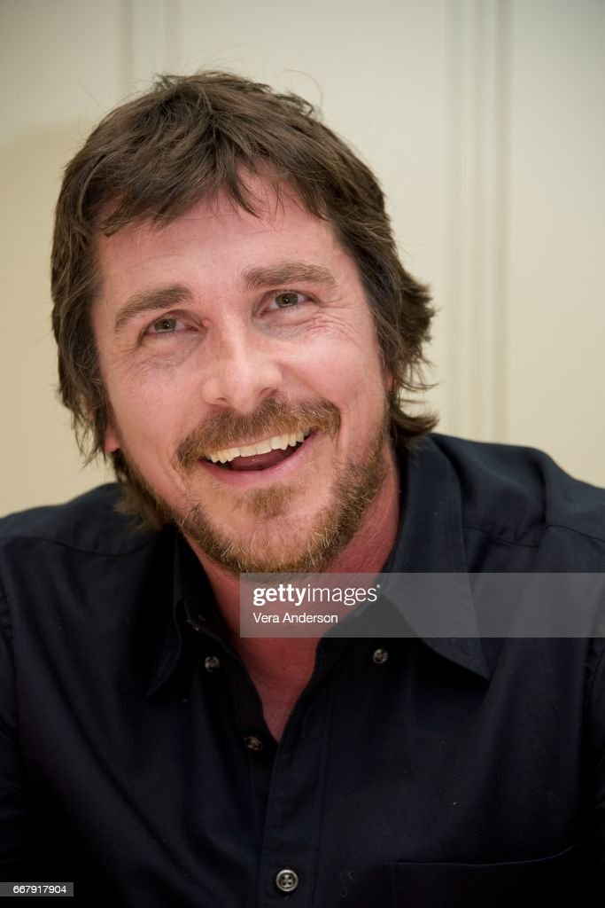 Christian Bale at 'The Promise' Press Conference at the Four Seasons Hotel on April 12, 2017 in Beverly Hills, California.