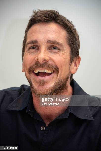 """Christian Bale at the """"Vice"""" Press Conference at the Four Seasons Hotel on November 30, 2018 in Beverly Hills, California."""