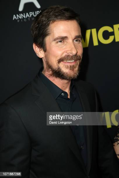 Christian Bale attends Annapurna Pictures Gary Sanchez Productions and Plan B Entertainment's World Premiere of Vice at AMPAS Samuel Goldwyn Theater...
