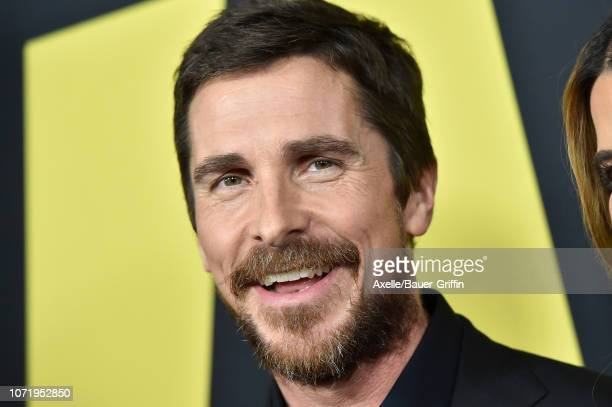 Christian Bale attends Annapurna Pictures Gary Sanchez Productions and Plan B Entertainment's World Premiere of 'Vice' at AMPAS Samuel Goldwyn...