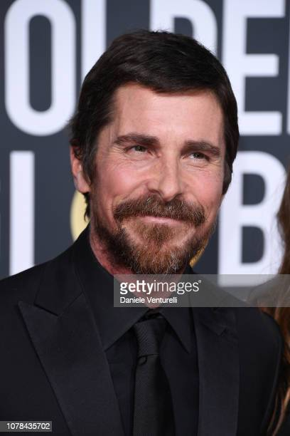 Christian Bale attends the 76th Annual Golden Globe Awards at The Beverly Hilton Hotel on January 6 2019 in Beverly Hills California