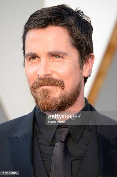 Christian Bale attends the 88th Annual Academy Awards at Hollywood Highland Center on February 28 2016 in Hollywood California