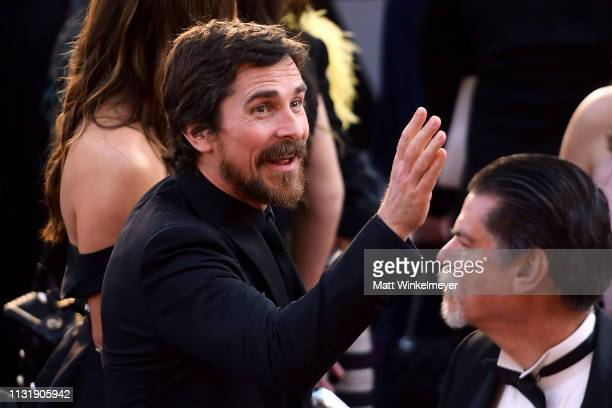 Christian Bale attends the 91st Annual Academy Awards at Hollywood and Highland on February 24, 2019 in Hollywood, California.