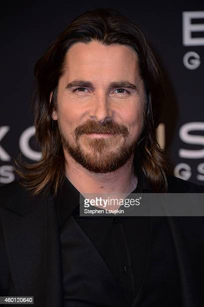 Christian Bale attends the 'Exodus Gods And Kings' New York premiere at the Brooklyn Museum on December 7 2014 in New York City