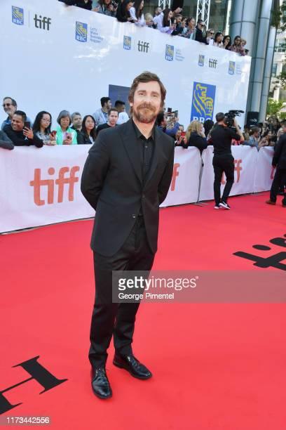 Christian Bale attends the Ford v Ferrari premiere during the 2019 Toronto International Film Festival at Roy Thomson Hall on September 09 2019 in...