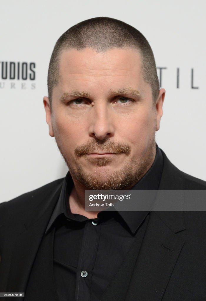 Christian Bale attends the 'Hostiles' premiere at Metrograph on December 18, 2017 in New York City.