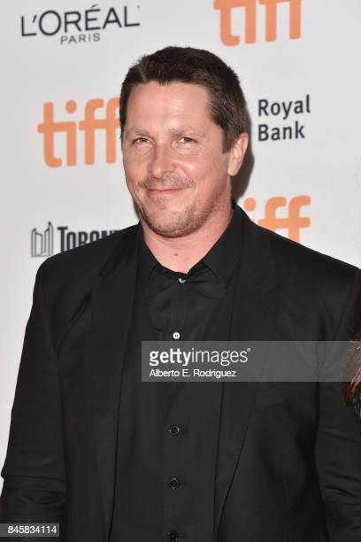 Christian Bale attends the 'Hostiles' premiere during the 2017 Toronto International Film Festival at Princess of Wales Theatre on September 11 2017...