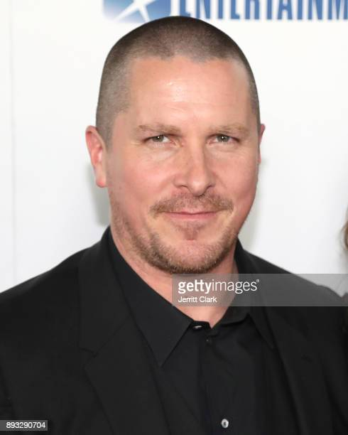 Christian Bale attends the Premiere Of Entertainment Studios Motion Pictures' 'Hostiles' at Samuel Goldwyn Theater on December 14 2017 in Beverly...