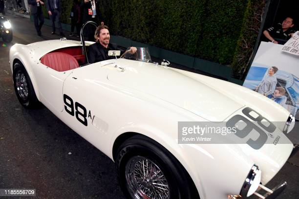 Christian Bale attends the Premiere of FOX's Ford V Ferrari at TCL Chinese Theatre on November 04 2019 in Hollywood California