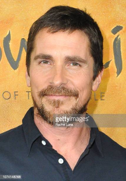 Christian Bale attends the premiere of Netflix's 'Mowgli' at ArcLight Hollywood on November 28 2018 in Hollywood California