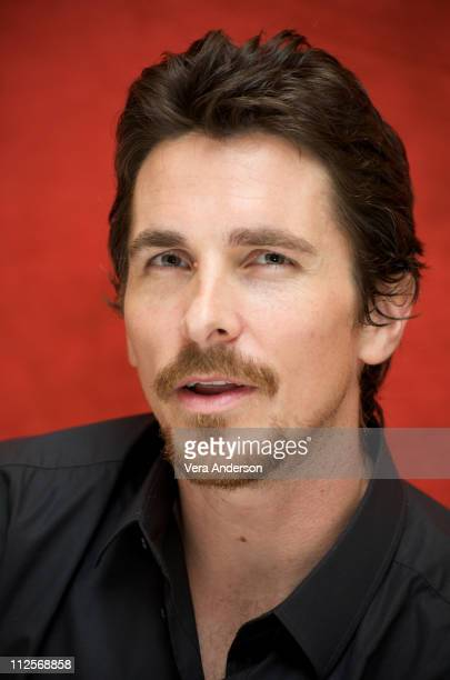 Christian Bale attends the 'Public Enemies' press conference held at the Peninsula Hotel on June 19 2009 in Chicago Illinois