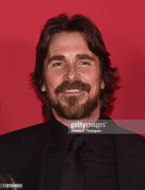 Christian Bale attends the Red Nation Film Festival And Awards Ceremony at Laemmle's Ahrya Fine Arts Theatre on November 15, 2019 in Beverly Hills,...