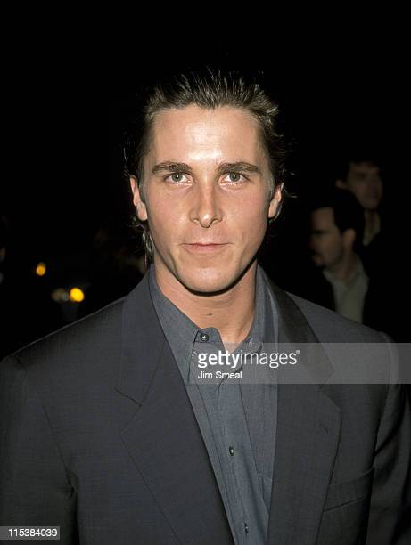 Christian Bale during A Midsummer Night's Dream Westwood Premiere at Mann Bruin Theatre in Westwood California United States