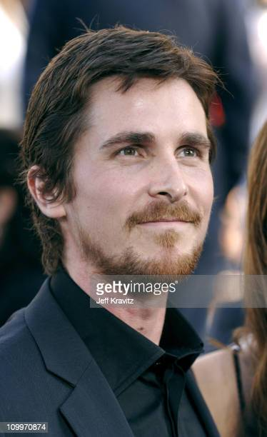 Christian Bale during Batman Begins Los Angeles Premiere Arrivals at Grauman's Chinese Theater in Hollywood California United States
