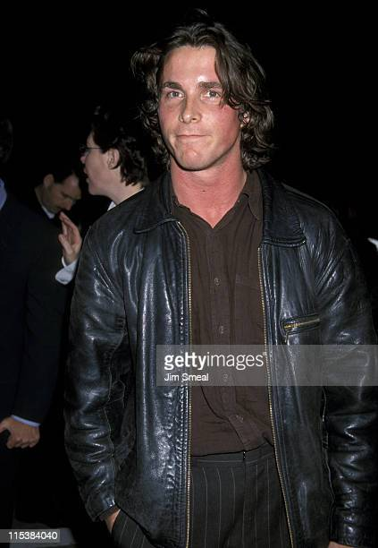 Christian Bale during 'Hilary Jackie' Beverly Hills Screening January 6 1999 at Music Hall Theater in Beverly Hills California United States