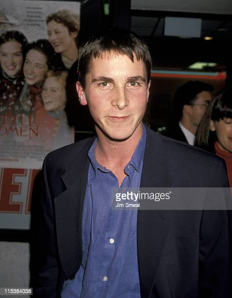 Christian Bale during Little Women Premiere at Mann Culver Plaza Theatre in Culver City California United States