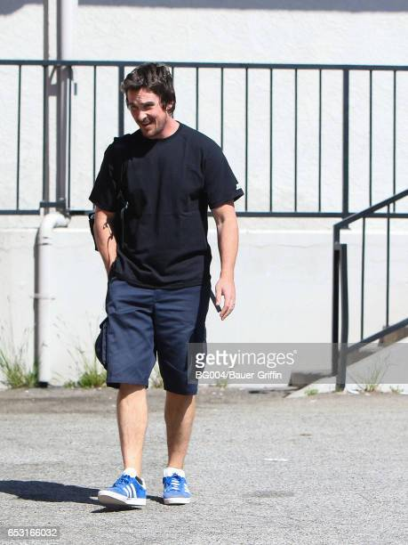 Christian Bale is seen on March 13 2017 in Los Angeles California