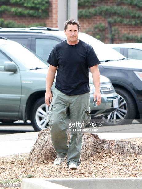 Christian Bale is seen on September 17 2017 in Los Angeles California