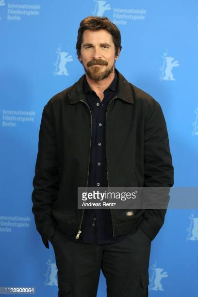Christian Bale poses at the Vice photocall during the 69th Berlinale International Film Festival Berlin at Grand Hyatt Hotel on February 11 2019 in...
