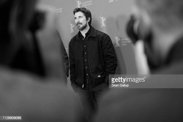 "Christian Bale poses at the ""Vice"" photocall during the 69th Berlinale International Film Festival Berlin at Grand Hyatt Hotel on February 11, 2019..."