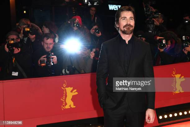 Christian Bale poses at the Vice premiere during the 69th Berlinale International Film Festival Berlin at Berlinale Palace on February 11 2019 in...