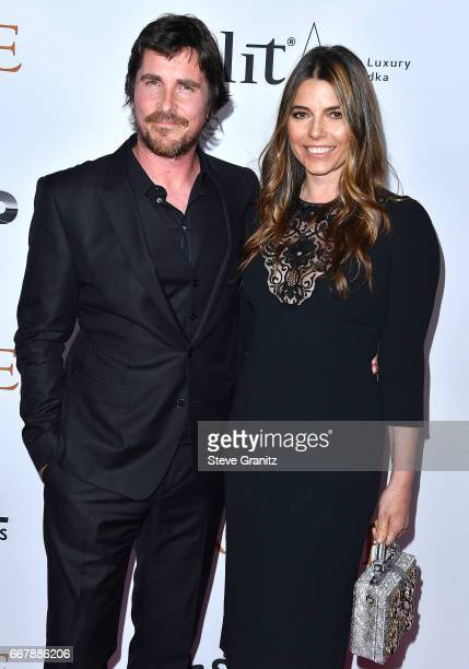 "Christian Bale, Sibi Blazic arrives at the Premiere Of Open Road Films' ""The Promise"" at TCL Chinese Theatre on April 12, 2017 in Hollywood,..."