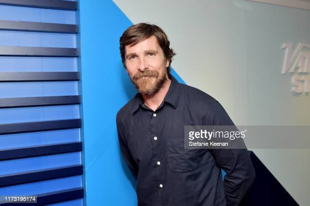 Christian Bale stops by AT&T ON LOCATION during Toronto International Film Festival 2019 at Hotel Le Germain on September 08, 2019 in Toronto, Canada.
