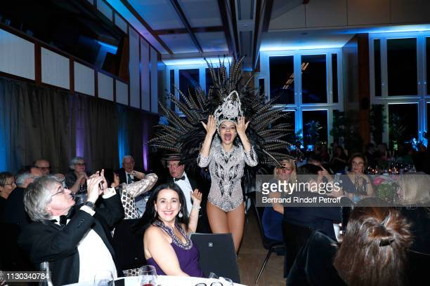 Christian Barras attends the Snow Night La Nuit des Neiges Charity Gala on February 16 2019 in CransMontana Switzerland