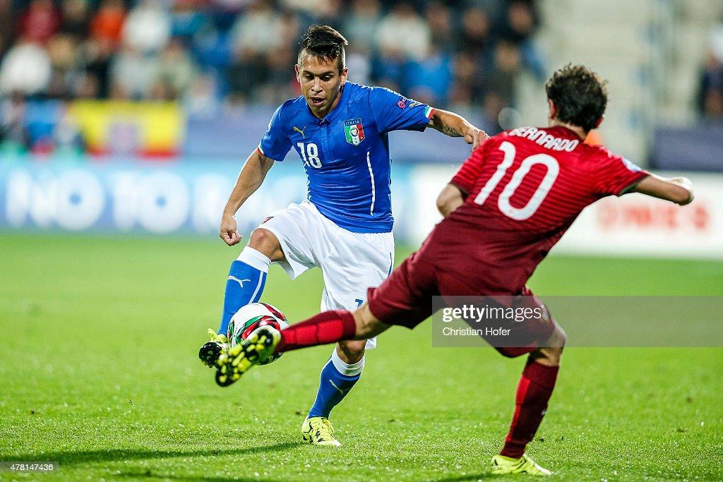 Italy v Portugal - UEFA Under21 European Championship 2015 : ニュース写真
