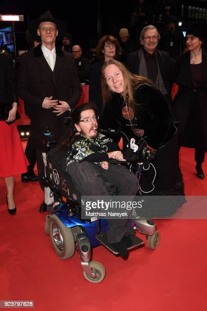 Christian Bayerlein and Grit Uhlemann attend the closing ceremony during the 68th Berlinale International Film Festival Berlin at Berlinale Palast on...
