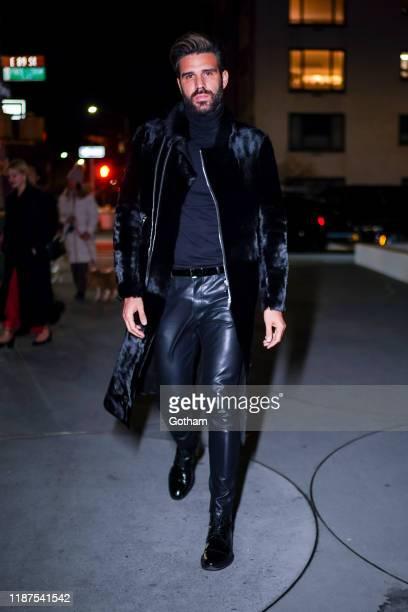 Christian Bendek attends the 2019 Guggenheim International Gala on November 13 2019 in New York City
