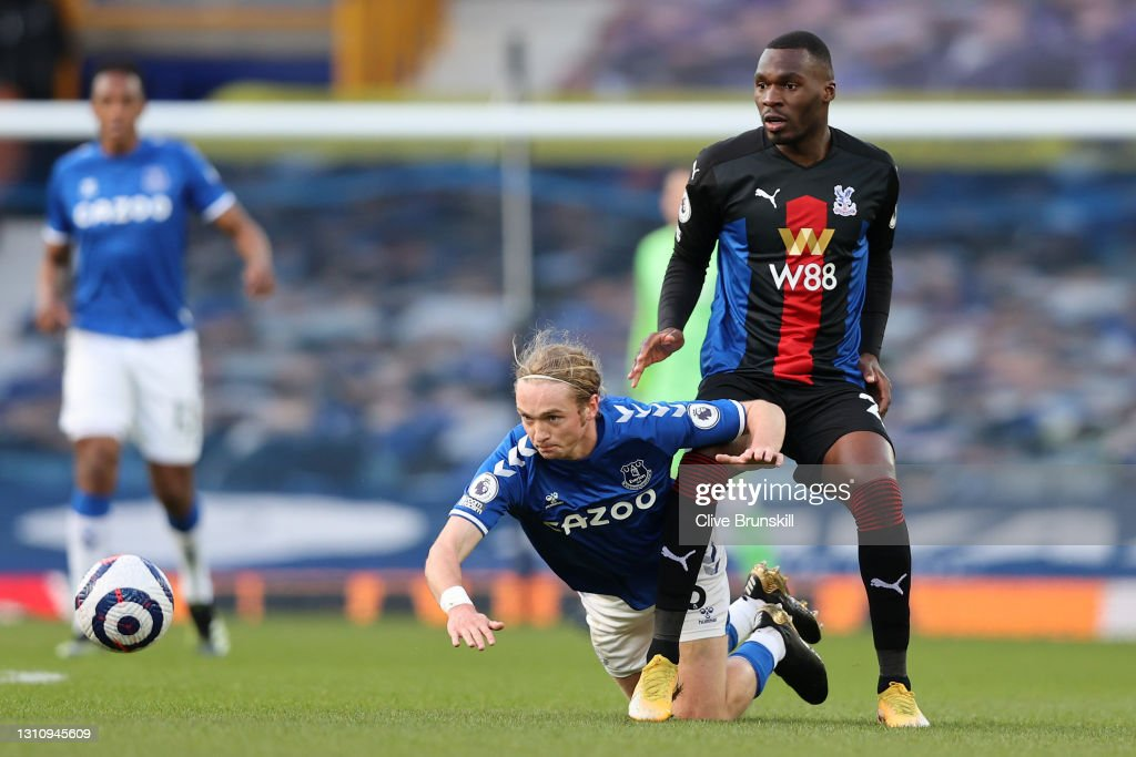Everton v Crystal Palace - Premier League : Nieuwsfoto's