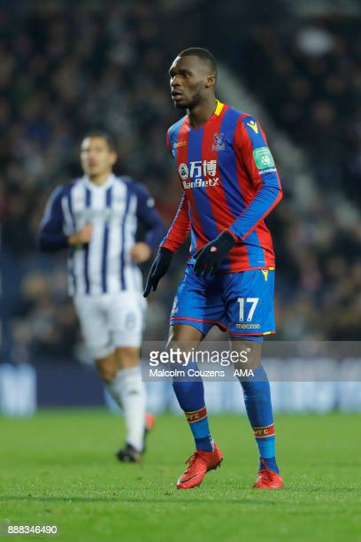 Christian Benteke of Crystal Palace during the Premier League match between West Bromwich Albion and Crystal Palace at The Hawthorns on December 2...