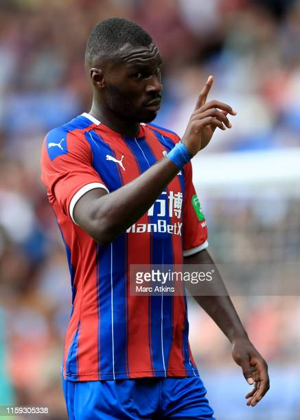 Christian Benteke of Crystal Palace during the Pre-Season Friendly match between Crystal Palace and Hertha BSC Berlin at Selhurst Park on August 3,...